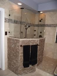 Glass Block Bathroom Ideas by Bathroom Cool Ideas For Bathroom Decoration Using Limestone Tile