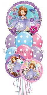 singing birthday delivery sofia the kids singing birthday balloon bouquet delivery in