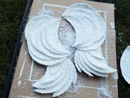 how to make wings for halloween diy angel wings less than perfect life of bliss home diy