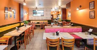 restaurant decor contemporary decor of the restaurant complements our modern indian
