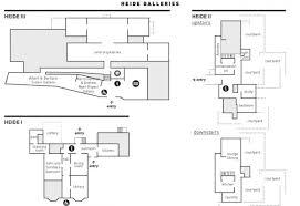 Moma Floor Plan Gallery Map Heide Museum Of Modern Art