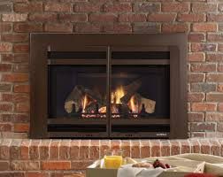 alluring brick fireplace ideas and fantastic brown steel glossy