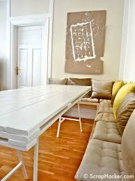Living Room Pallet Table Ikea Trestle Leg Table How To Attach The Legs Things To Make