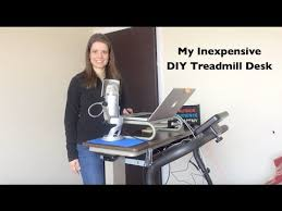 Diy Treadmill Desk Inexpensive Diy Treadmill Desk Setup
