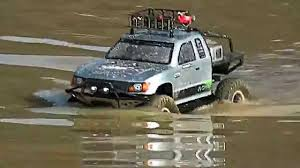 jeep honcho twister wash my axial honco in deep water rc car in action youtube