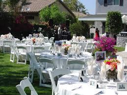 Backyard Wedding Reception Ideas On A Budget Low Budget Wedding Ideas