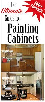 type of paint for cabinets the ultimate guide to painting cabinets tutorials the kim six fix