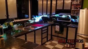 digital kitchen backsplash youtube