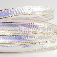 iridescent ribbon ribbons sashes uk weddingsoon satin ribbons 3mmx50m