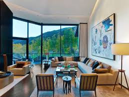 aspen art house luxurious classical home renovation with glass