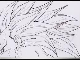draw dbz hair ドラゴンボールz の 髪