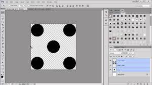 create pattern tile photoshop making a polka dot pattern in photoshop youtube
