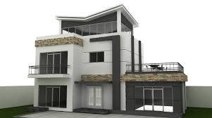 Quick 2 4 Bedroom House Designed In Autocad Autocad 3d House Plans