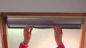 fitting our blinds for velux windows in 3 minutes or less youtube