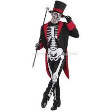 Skeleton Halloween by Mr Bone Jangles Mens Skeleton Halloween Fancy Dress James Bond
