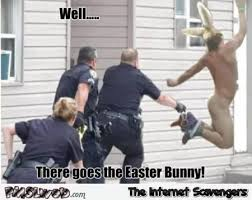 Easter Funny Memes - there goes the easter bunny funny meme pmslweb