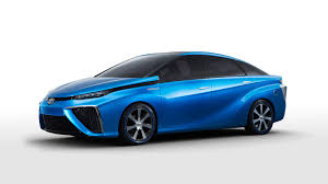 toyota will sell a fuel cell car around the world in 2015 the verge