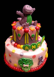 barney birthday cake barney cake the house of cakes dubai s