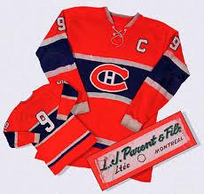 civilization ca treasures gallery the rocket s hockey sweater