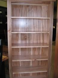 bookcase in natural finish on wormy maple our store pinterest