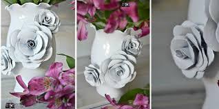 How To Make A Decorative - how to make a decorative flower vase 100 things 2 do