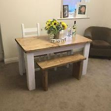 Rustic Bench Dining Table Rustic Table And Bench Ebay
