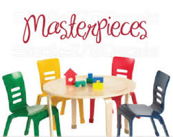Kids Art Room by Masterpiece Decal Etsy