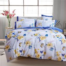 bedroom beauty floral pattern design of popular softest bed