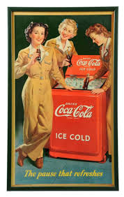 19 best coca cola advertising images on pinterest coke 1950s