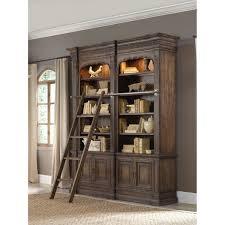 bookshelf astonishing bookcase with ladder and rail astonishing