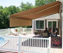 Retractable Awning For Deck Nuimage Retractable Awnings