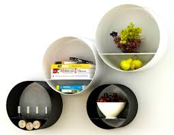 accessories mesmerizing lost and round wall shelf mod retro