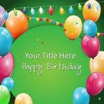 powerpoint birthday template birthday powerpoint templates slides