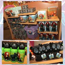 choosing merchandise from disneyÿ u2022pixar u0027s u0027brave u0027 at disney parks
