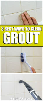 Cleaning Grout With Vinegar 3 Of The Best Ways To Clean Grout In Your Bathroom Baking Soda