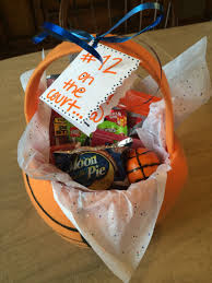 basketball gift basket state basketball gift basket i made for my boyfriend gifting