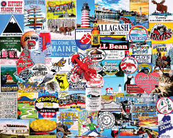 Puzzle Len I Maine 1000 Jigsaw Puzzle White Mountain Puzzles
