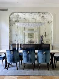 mirrored dining room table mirror in dining room home design and pictures
