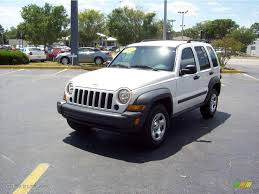 jeep liberty white interior 2007 stone white jeep liberty sport 8711432 gtcarlot com car