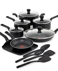 best black friday deals on pots and pans t fal culinaire 16 pc cookware set cookware u0026 cookware sets