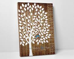 wedding gift registry book tree guest book etsy