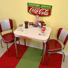 retro kitchen decorating ideas a retro coca cola soda dinette setup