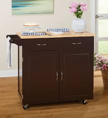 wood top kitchen island alcott hill sammons kitchen island with wood top reviews wayfair
