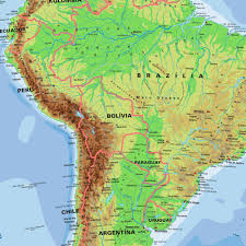 A Map Of South America Map Of South America Maps And Directions At Map
