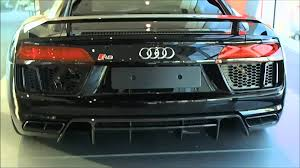 audi supercar black mythos black 2016 audi r8 v10 plus 610 ps walkaround youtube