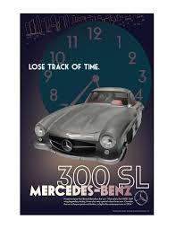 an endless night art deco mercedes poster on behance