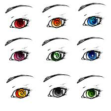 coloured templates eye template coloured by alexfan101 on deviantart