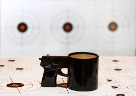 Different Shapes Coffee Mug Online Amazon Com Bigmouth Inc The Gun Mug Kitchen U0026 Dining