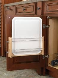 cutting kitchen cabinets wood classics door storage cutting board rack with cutting board