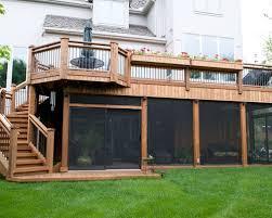 Backyard Screen House by Screen Room Deck Houzz